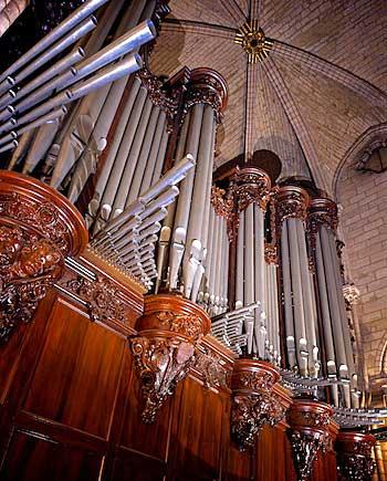 Notre Dame, orgão