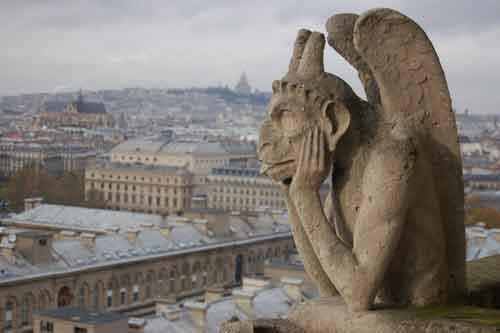 Vista de Paris da torre. Foto Luiz Gonzaga