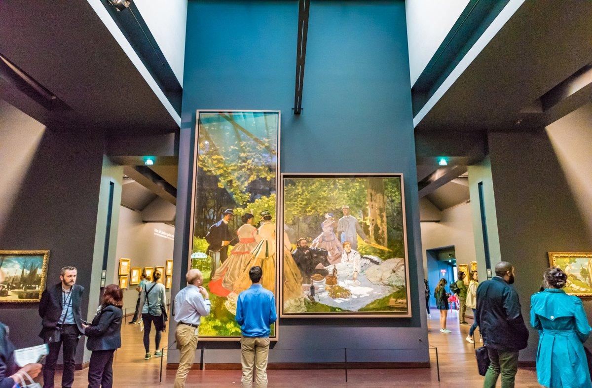 O Museu Orsay em Paris.