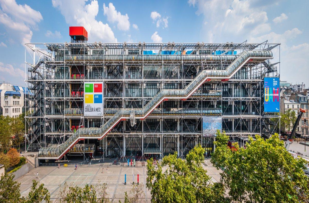 O museu Centre Pompidou em Paris