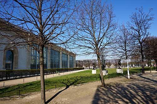 Jardin Tuileries, Museu Orangerie