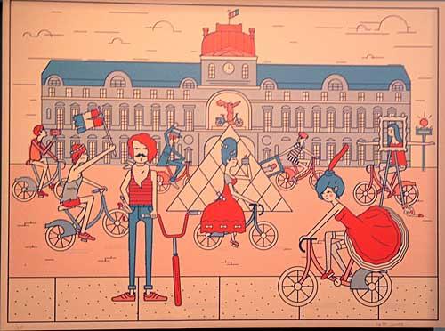 Exposição na Prefeitura de Paris