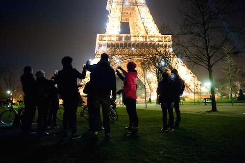 Grande sucesso o tour Meia Noite em Paris by Bike