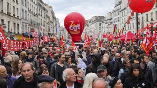 1 de maio em paris