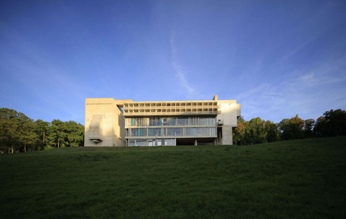 Convento La Tourette, nas proximidades de Lyon.