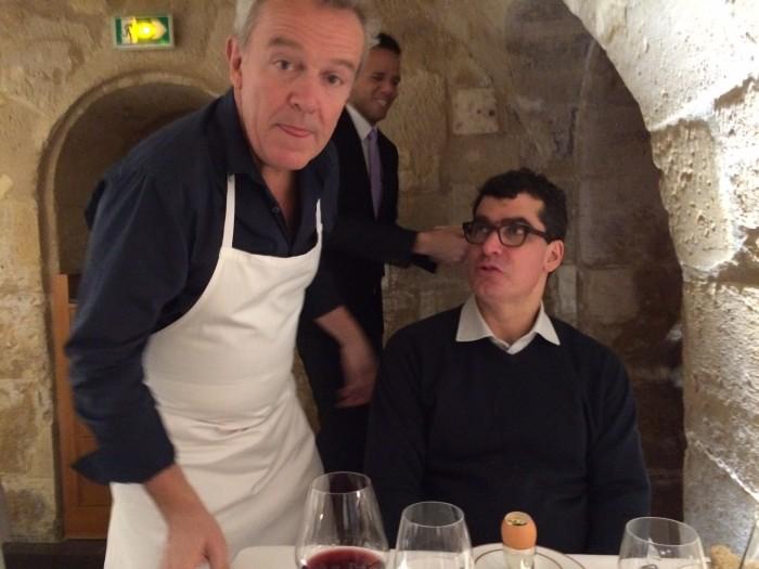 O chef Alain Passard, de mesa em mesa.