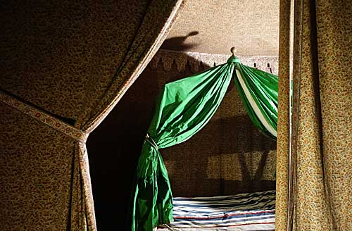 Acampamento onde dormia Napoleão durante as guerras