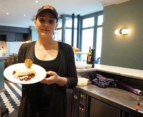 Rachel e seu cheese cake