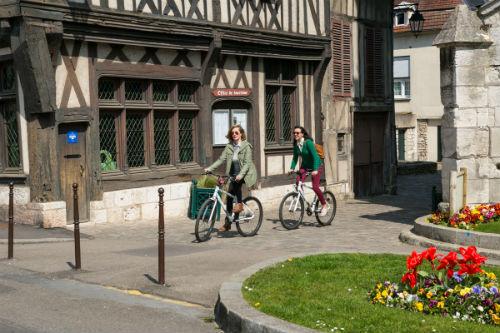 A pequena cidade de Vernon, a 7 km de Giverny