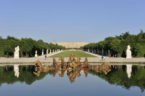 O Castelo de Versailles, residência residência da monarquia francesa, de Luís XIV, Luís XV e Luís XVI, de 1682 até a Revolução Francesa em 1789. Foto cedida pelo Castelo. ©Christian-Mile