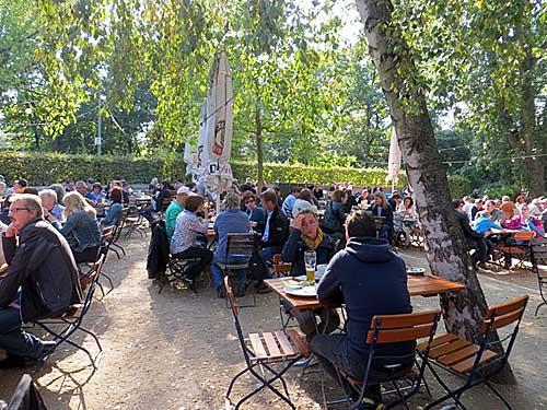 Biergarten no Tiergarten