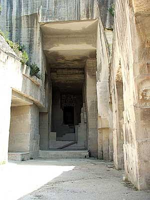Carrières de Lumières: antigas minas de pedra