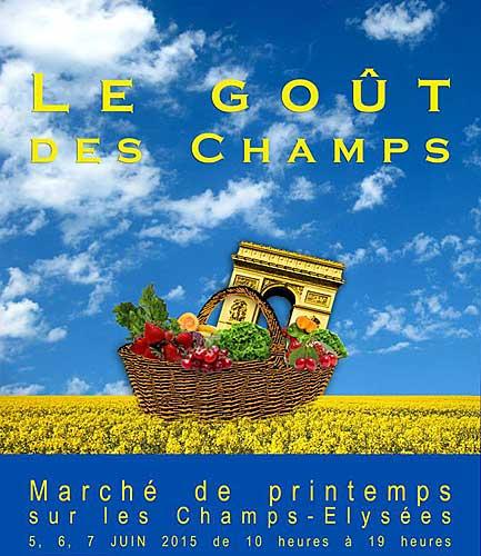 Evento Goût des Champs
