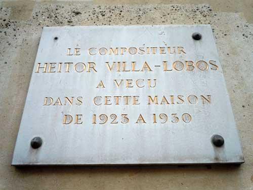 Heitor Villa-Lobos viveu nesta casa