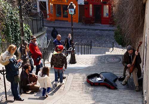 Músico em Montmartre