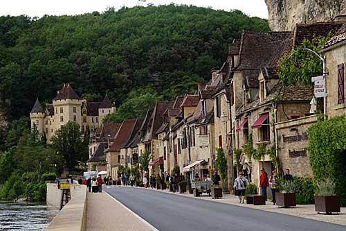 Pequenas cidades do Périgord