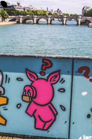 Pont des Arts sem cadeados?
