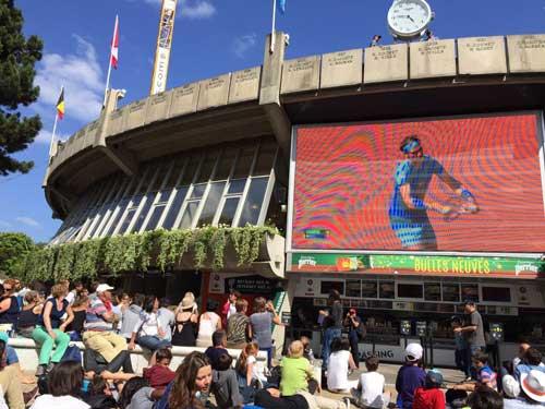 Roland Garros sem gastar muito