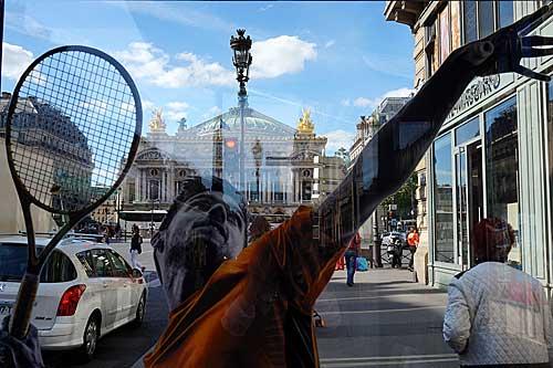 Paris durante o Roland Garrros