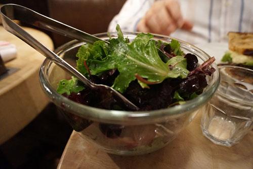 Saladas crocantes
