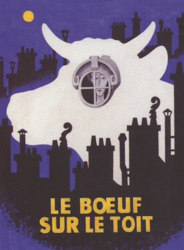 Cartaz do balÇ de Jean Cocteau