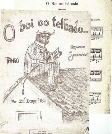 Partitura Original brasileira.