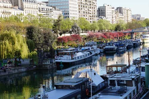 Porto fluvial de Paris