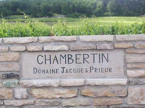 Borgonha, Chambertin