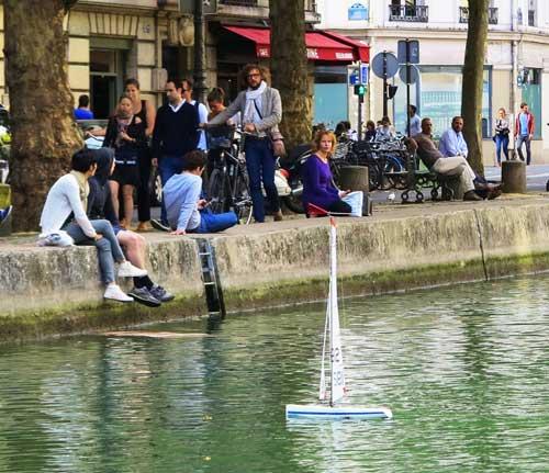 Canal Saint Martin;foto Maurício Christovão