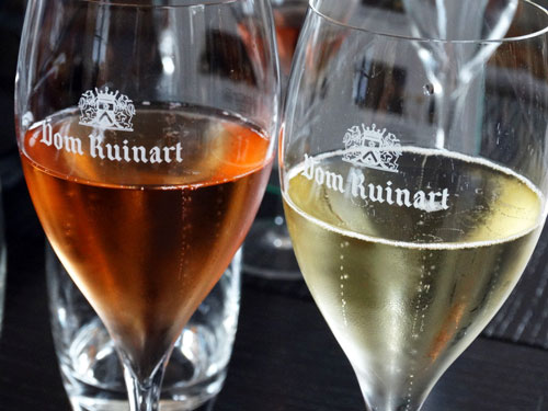 Champanhe Ruinart. Foto Da Cachaça pro Vinho