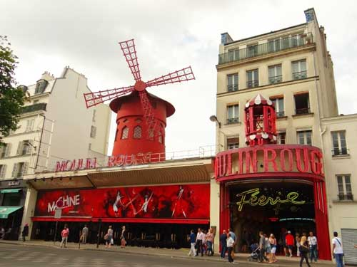 Montmartre, Moulin Rouge