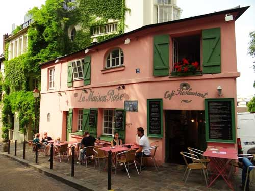 Montmartre, a Maison Rose