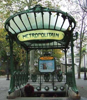 Montmartre metrô Abbesses