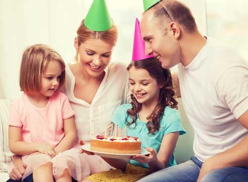 Festa de aniversário: antes. Crédito: Shutterstock