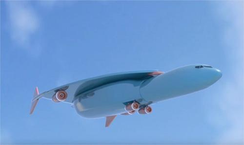 Novo projeto avião ultra-rápido