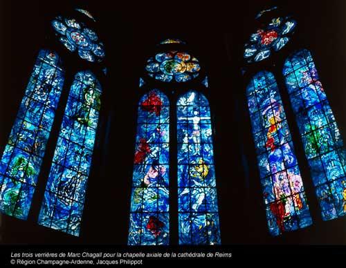 Vitrais de Chagall