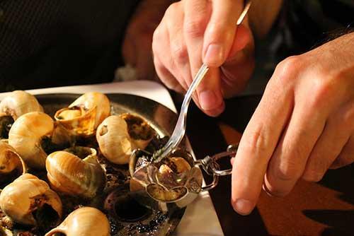 Provence, escargots; Connie Ma no Flickr