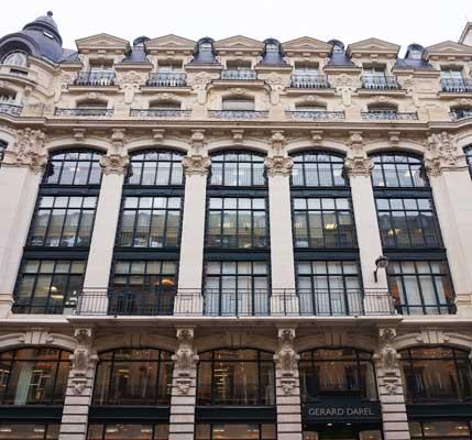 Fachada principal, rua Reaumur, Paris