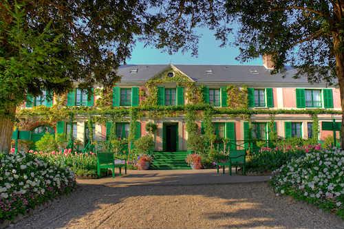 Casa de Monet (© Fondation Claude Monet, Giverny / Droits réservés)