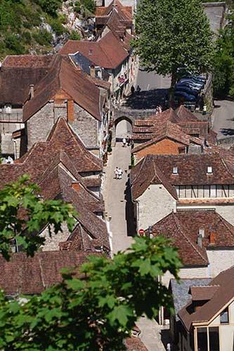 Rocamadour, cidade