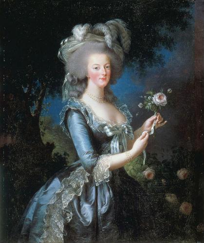Maria Antonieta por Le Brun, 1783