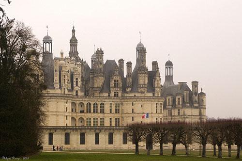 Castelo de Chambord. Philippe Rouzet no Flickr