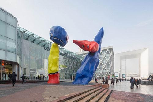 La Defense, obra de Miró. Créditos Defacto