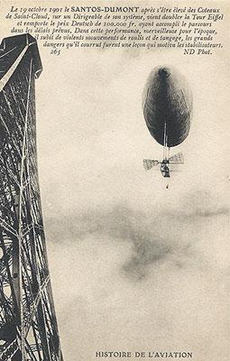 Santos Dumont e a Torre Eiffel