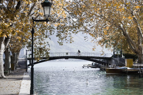 Pont des Amours, em Annecy.