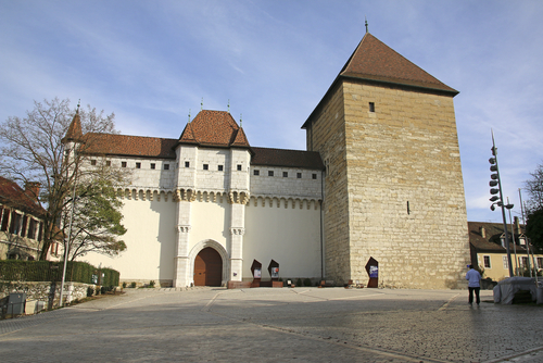 A Castelo de Annecy.
