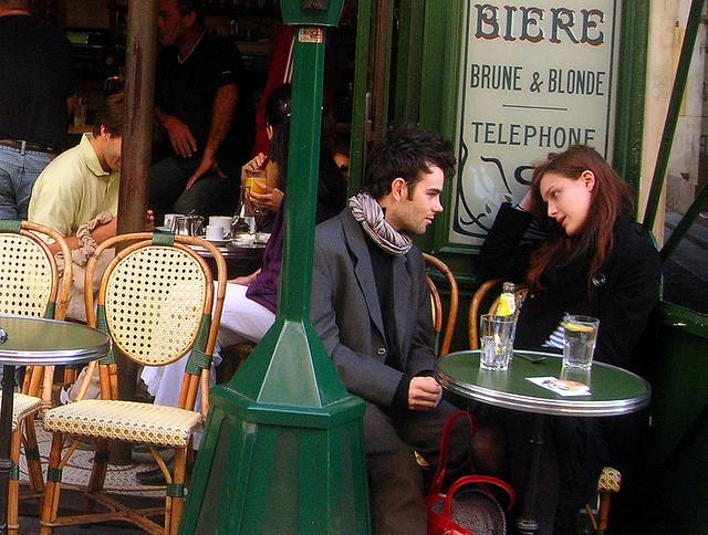 Le Petit Fer au Cheval, o café mais famoso do Marais
