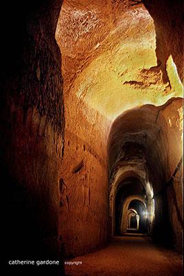 Minas de Ocre, foto tirada do site Mines de Bruoux