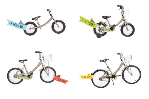Os 4 modelos de bicicletas para as crianças