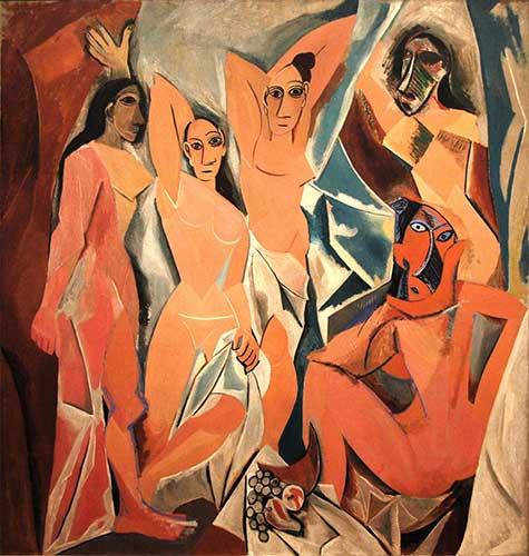 Demoiselles d'Avignon de Picasso